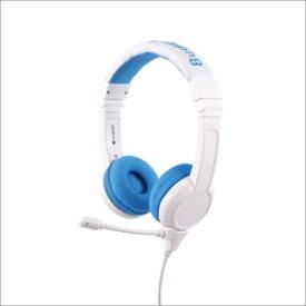 ONANOFF ヘッドホン ブルー BuddyPhones-School+Blue [マイク対応 /φ3.5mm ミニプラグ] BPSCHOOLPBLUE