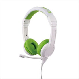 ONANOFF ヘッドホン グリーン BuddyPhones-School+GREEN [マイク対応 /φ3.5mm ミニプラグ] BPSCHOOLPGREEN