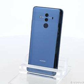 【中古】HUAWEI(ファーウェイ) HUAWEI Mate 10 Pro 128GB ミッドナイトブルー BLA-L29 SIMフリー【291-ud】