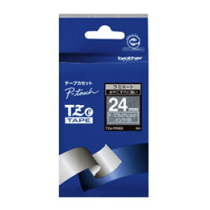 brother(ブラザー) ピータッチ(P-touch) おしゃれテープ プレミアムタイプ(プレミアムシルバー/白文字/24mm幅) TZe-PR955 TZe-PR955 TZEPR955