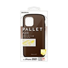 MSソリューションズ iPhone2021 6.1inch 3眼 ハイブリッド PALLETAIR LPIP21PLAMBR
