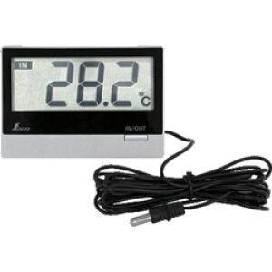 シンワ測定 シンワ デジタル温度計_Smart_B_室内・室外_防水外部センサー 73117 73117