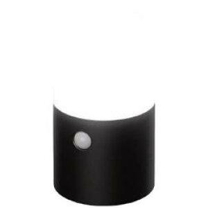 アイリスオーヤマ IRIS 乾電池式LEDガーデンセンサーライト 丸型 ブラック ZSL-MN1M-BK ZSLMN1MBK