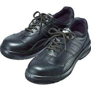 ミドリ安全 ミドリ安全 レザースニーカータイプ安全靴 BK 25.5cm G3551BK25.5