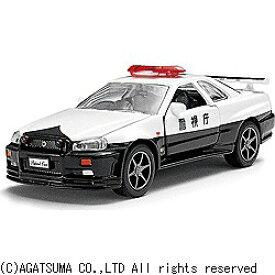 アガツマ・エンタテイメント ダイヤペット DK-3101 高速パトカー日産スカイラインGT-R(R34) DK-3101コウソクパトカーニッサン [振込不可]