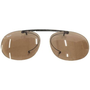 関眼鏡 偏光クリップオンサングラス(ライトブラウン) デコット_クリップオン