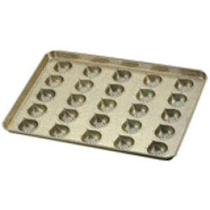 千代田金属工業 シリコン加工 マロンケーキ型天板 (25ヶ取) <WTV41> WTV41 [振込不可]