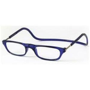 オーケー光学 クリックリーダー(ブルー/+2.50)