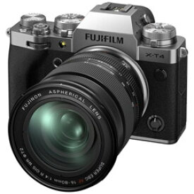 FUJIFILM(フジフイルム) X-T4-S ミラーレス一眼カメラ XF16-80mmレンズキット シルバー [ズームレンズ] FXT4LK1680S