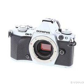 【中古】OLYMPUS(オリンパス) OM-D E-M5 Mark? ボディ シルバー【291-ud】