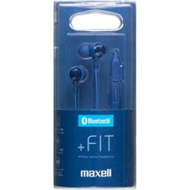maxell MXH-BTC110DB【リモコン・マイク対応】ブルートゥースイヤホン カナル型 MXHBTC110DB