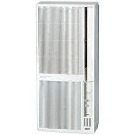 コロナ 窓用エアコン 冷暖房兼用タイプ シェルホワイト CWH-A1820-WS [オートドレン /冷房・暖房兼用] CWHA1820