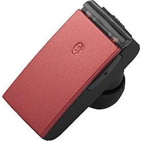 BUFFALO(バッファロー) BSHSBE23RD(レッド)【マイク対応】【USB充電ケーブル付】 片耳ヘッドセット BSHSBE23RD