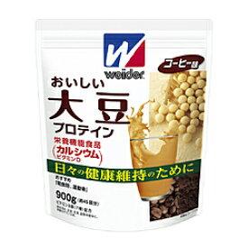 森永製菓 ソイプロテイン ウィダー おいしい大豆プロテイン【コーヒー味/900g(約45食分)】 36JMM84500
