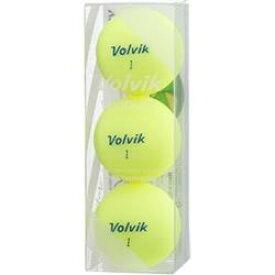 VOLVIK VOLVIK VIVID LITE シャーベットイエロー [3球(1スリーブ) /スピン系] VIVIDLITEYE
