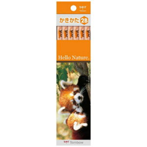 トンボ鉛筆 [鉛筆] かきかた鉛筆 ハローネイチャーLP (硬度:2B) 1ダース KB-KHNLP2B KBKHNLP2B