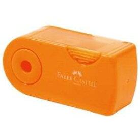 シヤチハタ ファーバーカステル 鉛筆削り(角型ミニ)TFC-182702/H-3 オレンジ TFC182702H3