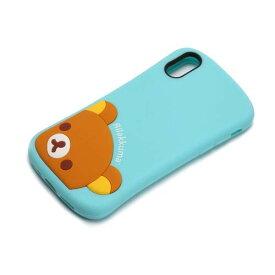 リラックマ iPhone XS X シリコンケース スマホケース yy02503
