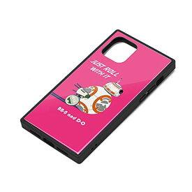 スター・ウォーズ iPhone 11 Pro ガラスハイブリッドケース BB-8