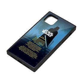 スター・ウォーズ iPhone 11 ガラスハイブリッドケース ダース・ベイダー PG-DGT19B31DV