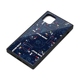 スター・ウォーズ iPhone 11 ガラスハイブリッドケース パターン PG-DGT19B34SW