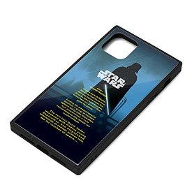 スター・ウォーズ iPhone 11 Pro Max ガラスハイブリッドケース ダース・ベイダー