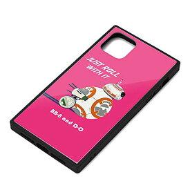 スター・ウォーズ iPhone 11 Pro Max ガラスハイブリッドケース BB-8