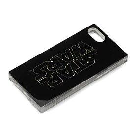 スター・ウォーズ iPhone SE 第2世代 2020 8 7 6s 6 グリッターケース ロゴ ブラック PG-DLQ17M05SW