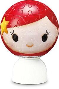 ディズニー ツムツム アリエル リトル・マーメイド パズランタン 3D 球体 ジグソーパズル 60ピース アリエル リトル・マーメイド ツムツム 3D・球体 2003-486 やのまん