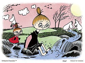 ムーミン 春の小川で プチパリエ ジグソーパズル アニメ キャラクター 150ピース イーゼル付き リトルミイ ムーミントロール ミニパズル 2301-04 やのまん