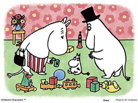 ムーミン ムーミンのマグカップ プチパリエ ジグソーパズル アニメ キャラクター 150ピース イーゼル付き ムーミントロール ムーミンパパ ムーミンママ ミニパズル 2301-31 やのまん