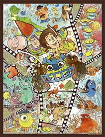 ディズニー&ピクサー キャラクター プチ2ライト ジグソーパズル 300ピース 16.5x21.5cm トイ・ストーリー モンスターズ・インク ファインディング・ニモ ウッディ バズ・ライトイヤー リトル・グリーン・メン ミニパズル 42-70 やのまん