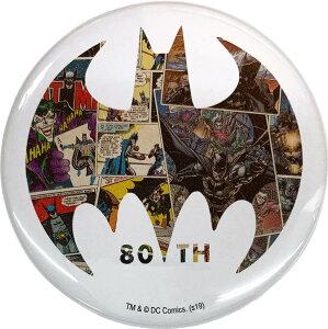 DC バットマン BATMAN 80 YEARS 缶バッジB IBA-181