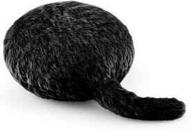 Qoobo(クーボ)しっぽクッション シルキーブラック ぬいぐるみ ロボット 猫 4580310090329
