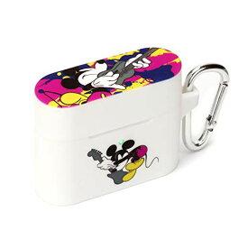 ディズニー AirPods Pro 充電ケース シリコンケース ミッキーマウス/ホワイト PG-DAPPC02MKY