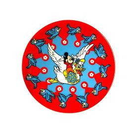 ディズニー 豆皿ミッキーマウス バードサークル ノスタルジカ