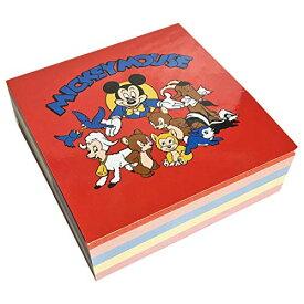 ディズニー スクエア メモ帳 ミッキー&フレンズアニマル ノスタルジカ