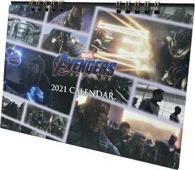 マーベル MARVEL アベンジャーズ/エンドゲーム 2021年卓上カレンダー ICC95