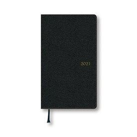 ダイゴー 2021年1月始まり 手帳 スケジュール帳 アポイント Appoint 1ヶ月ブロック 日曜始まり 薄型 ブラック E1643