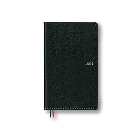 ダイゴー 2021年1月始まり手帳 アポイント Appoint 1週間+横罫 ブラック E1642