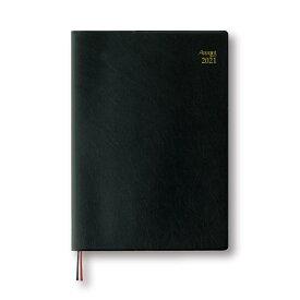 ダイゴー 2021年1月始まり 手帳 スケジュール帳 アポイント Appoint 1週間バーチカル A5 ブラック E1041