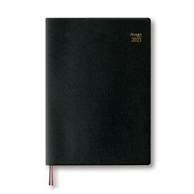 ダイゴー 2021年1月始まり 手帳 スケジュール帳 アポイント Appoint 見開き1週間 B5 ブラック E1339