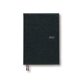 ダイゴー 2021年1月始まり 手帳 スケジュール帳 アポイント Appoint 1週間+横罫 A5 ブラック E1651