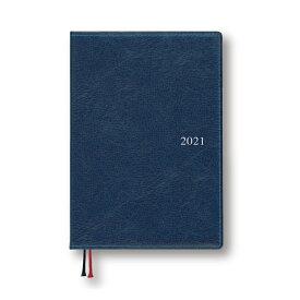 ダイゴー 2021年1月始まり 手帳 スケジュール帳 アポイント Appoint 1週間バーチカル B6 ネイビー E1666