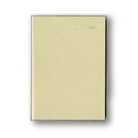 ダイゴー 2021年1月始まり 手帳 スケジュール帳 アポイント Appoint 大きな文字シリーズ 1週間+横罫 A5 アイボリー E8313
