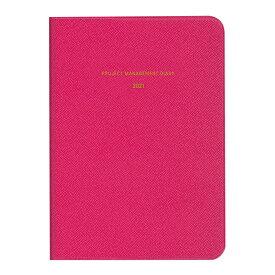 ダイゴー 2021年1月始まり手帳 ミル MILL マネジメント NEON A6 ピンク E7422