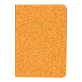 ダイゴー 2021年1月始まり手帳 ミル MILL マネジメント NEON B6 オレンジ E7432