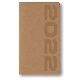 2022年1月始まり アポイント Appoint E1016 1ヶ月ブロック 薄型 手帳サイズ ベージュ ダイゴー