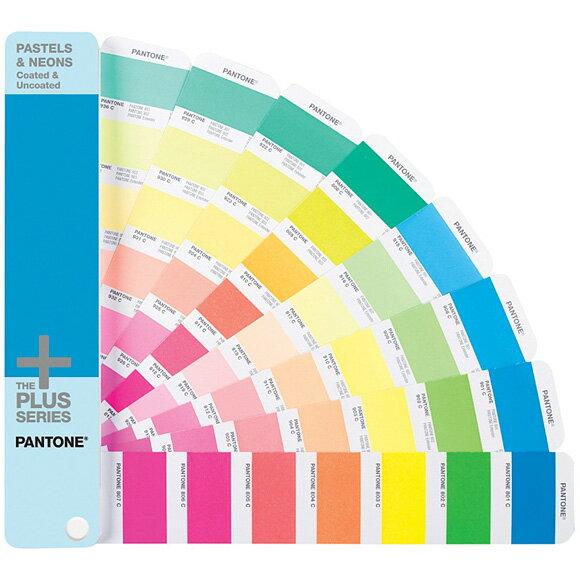 PANTONE(パントン)PLUS パステル&ネオン・ガイド(コート紙、上質紙) GG1504