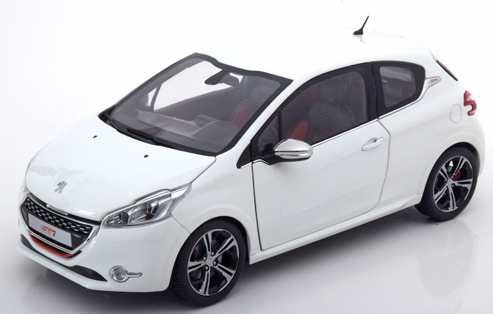 Norev ノレヴ 1:18 2013年モデル プジョー 208 GTi ホワイトPEUGEOT - 208 GTi 2013 1/18 white by Norev
